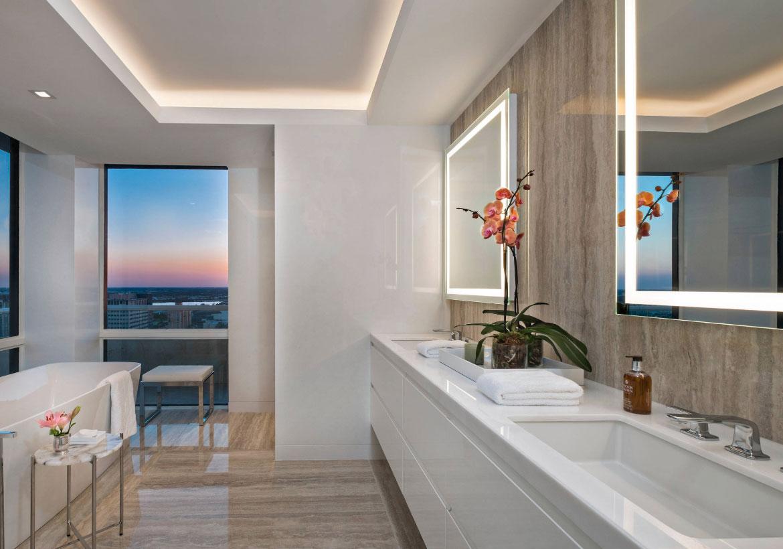 41 Creative Led Mirror Design Ideas Home Remodeling Contractors Sebring Design Build
