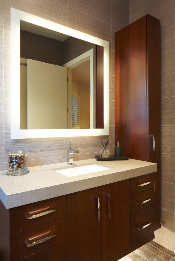 41 Creative Led Mirror Design Ideas Home Remodeling Contractors Sebring Design Build