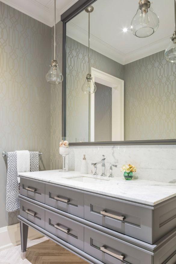 Phenomenal Powder Room Ideas & Half Bath Designs - Sebring Design Build