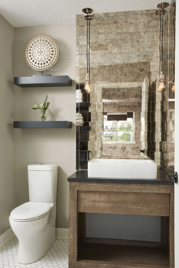59 phenomenal powder room ideas half bath designs home - Half bath remodel ideas ...