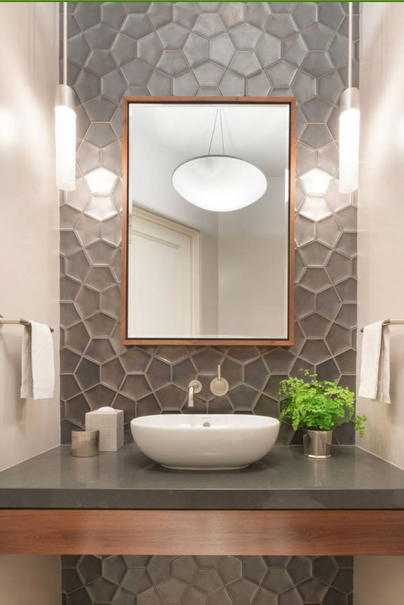 Half Bathroom Tile Ideas - Home Sweet Home | Modern Livingroom