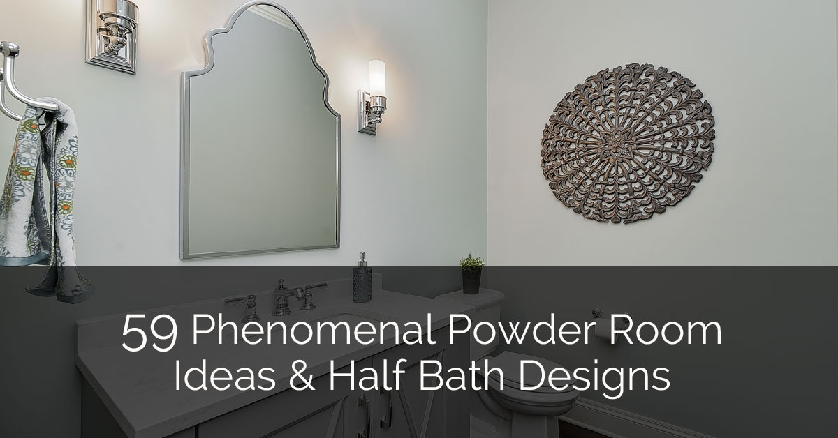 Phenomenal Powder Room Ideas & Half Bath Designs - Sebring Design Build
