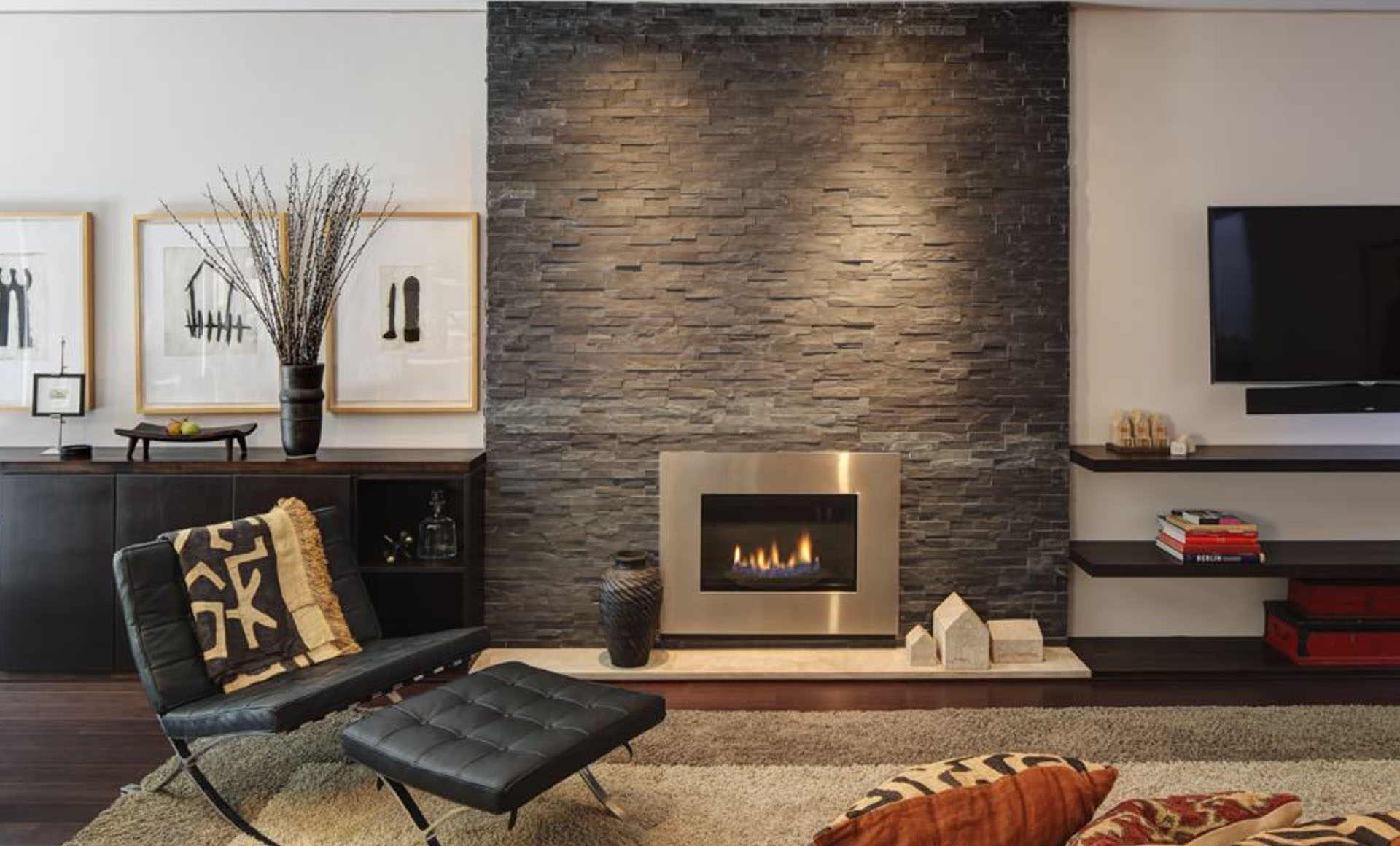 Fireplace Fundamentals: 13 Fireplace Ideas to Spark Up Your ...