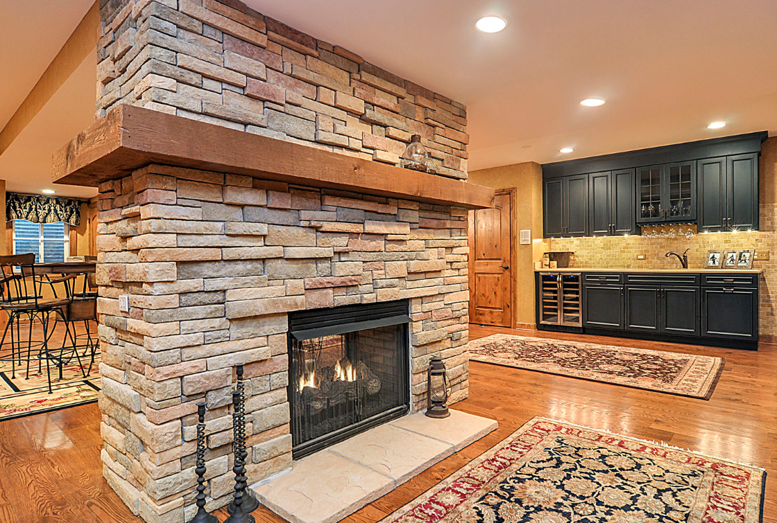 Basement Fireplace Surround Ideas