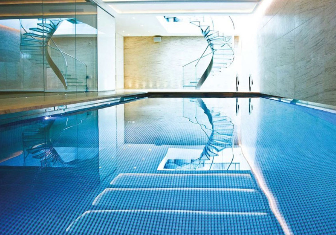 Indoor Pool and Hot Tub Ideas: Swim With Style At Home! | Home ...