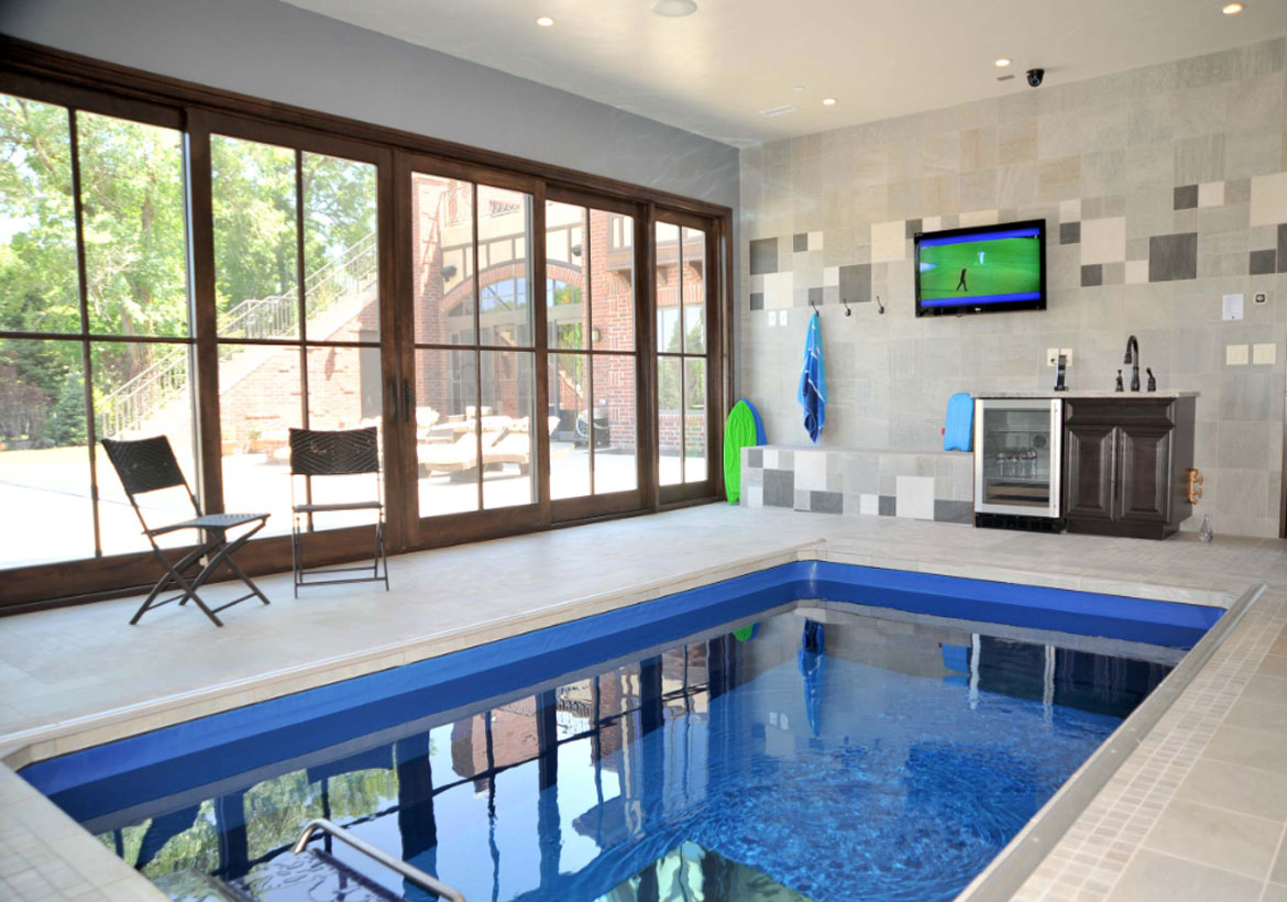 Indoor Pool and Hot Tub Ideas Swim With Style At Home