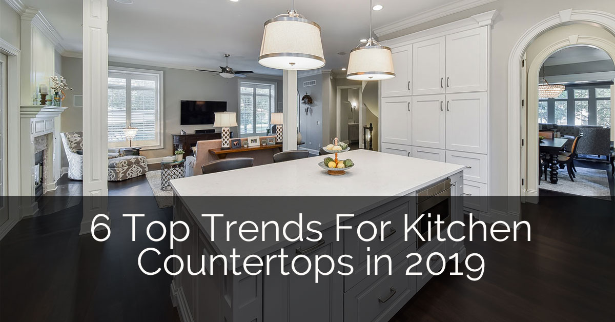 6 Top Trends For Kitchen Countertop Design In 2019 Home Remodeling