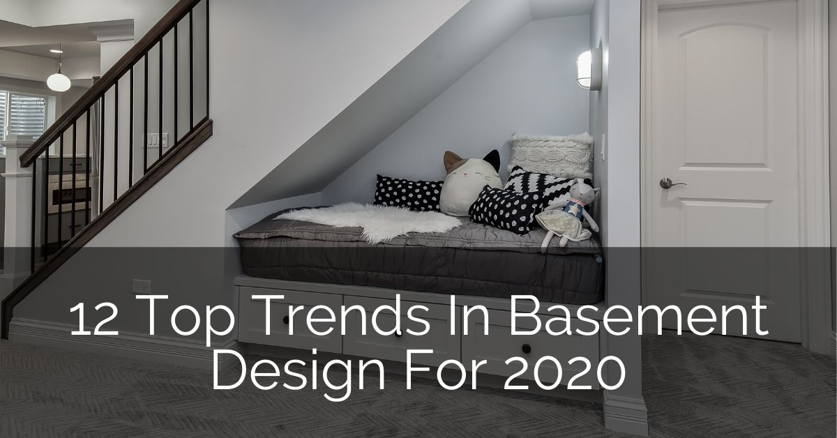 12 Top Trends In Basement Design For 2020 Home