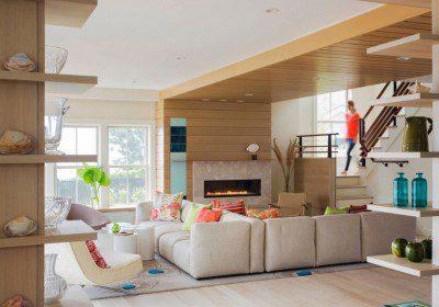 Eccentric Electric & Gas Fireplace Ideas