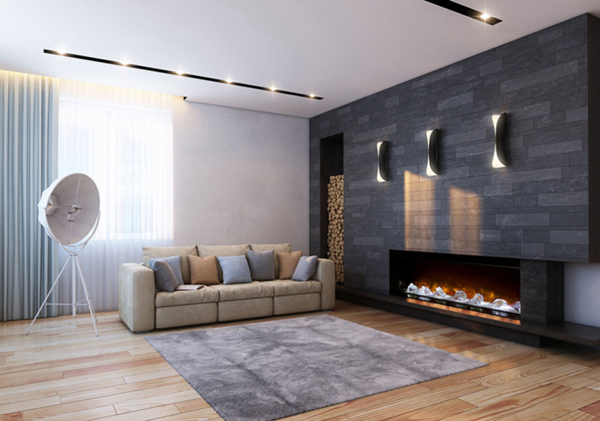 Eccentric Electric & Gas Fireplace Ideas