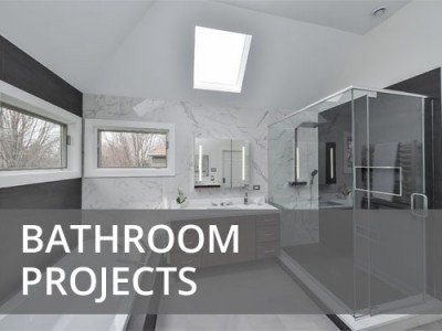 Bathroom Projects Portfolio