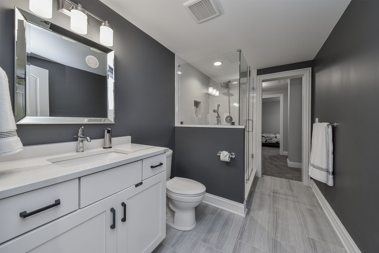 Marc Beth S Basement Remodel Pictures Home Remodeling Contractors Sebring Design Build