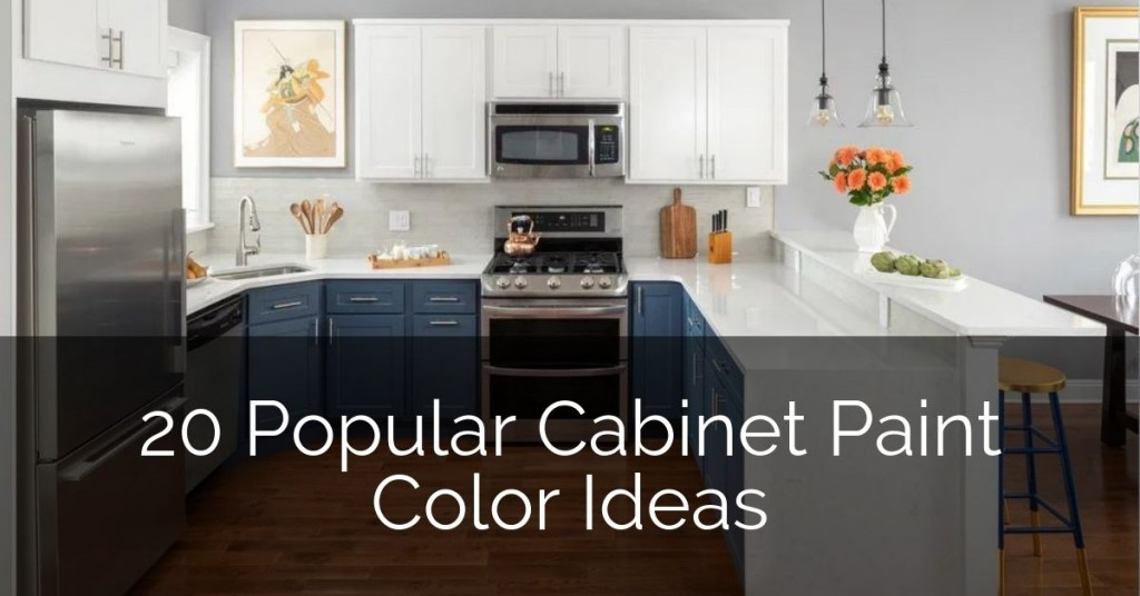 Kitchen Cabinet Colors Sebring Design, How To Pick Paint Color For Kitchen Cabinets