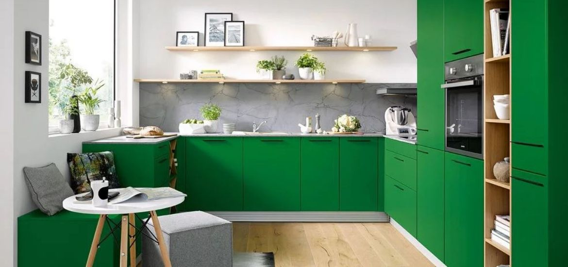 amusing green kitchen paint colors white cabinets | 26 Green Kitchen Cabinet Ideas | Sebring Design Build ...