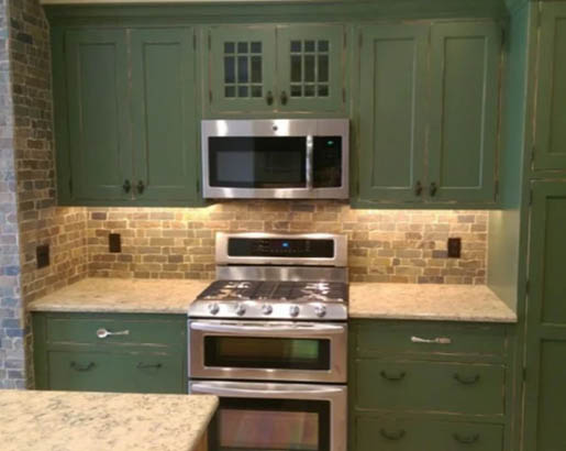 26 Green Kitchen Cabinet Ideas Sebring Design Build Kitchen