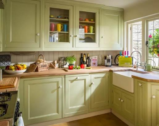 26 Green Kitchen Cabinet Ideas | Sebring Design Build ...