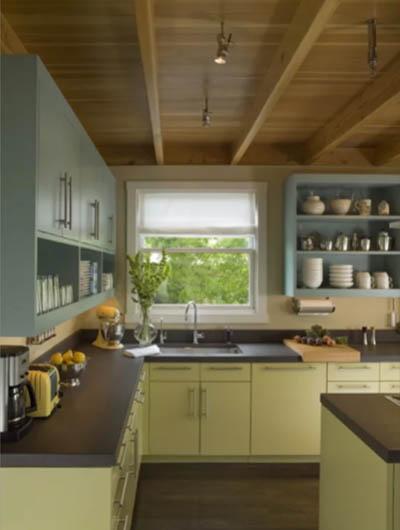green kitchen cabinets 5