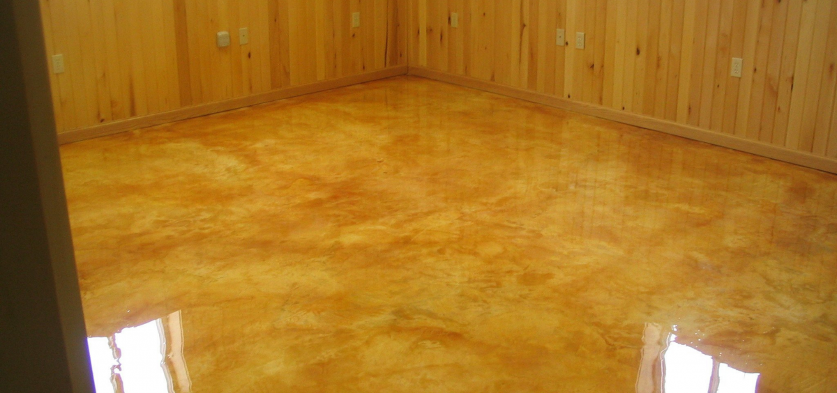 How To: Acid Stained Concrete Floors | Sebring Design Build
