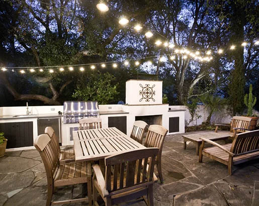 30 Outdoor Patio LED & Bistro String Lights Ideas | Sebring ...