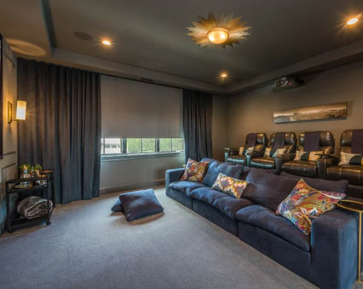 31 Home Theater Ideas That Will Make You Jealous Sebring Design