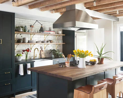 32 Floating Kitchen Shelving Ideas