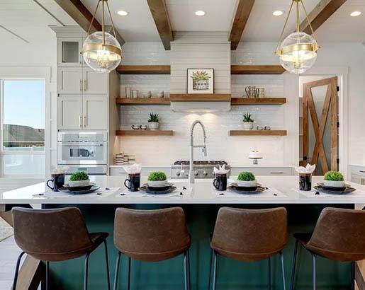32 Floating Kitchen Shelving Ideas | Sebring Design Build ...