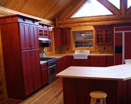 Red Kitchen Cabinets Sebring Design Build Kitchen Remodeling