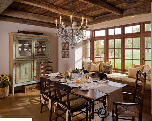 26 French Country Dining Room Ideas