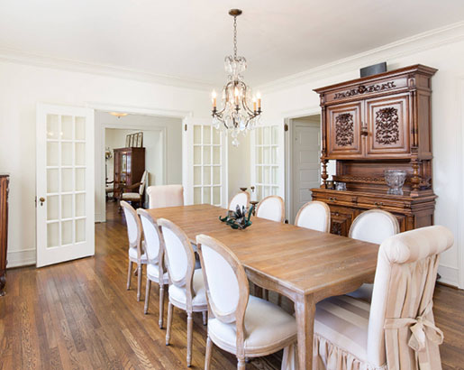 26 French Country Dining Room Ideas, French Country Style Dining Room Table And Chairs