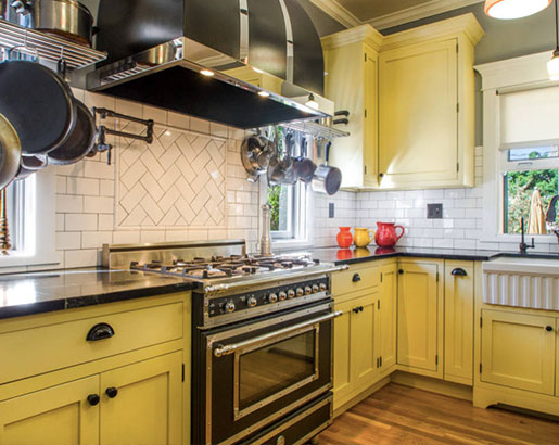 24 Yellow Kitchen Cabinet Ideas | Sebring Design Build |