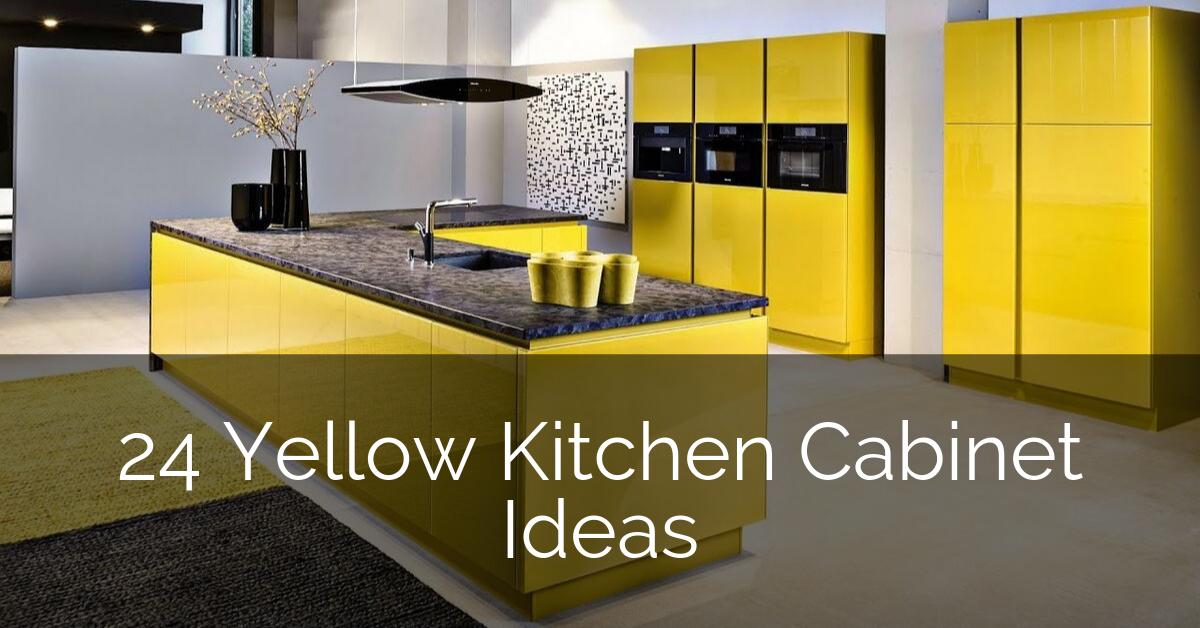 24 Yellow Kitchen Cabinet Ideas Sebring Design Build