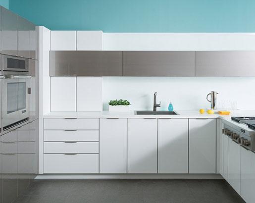 31 Steel Metal Kitchen Cabinet Ideas, Best Way To Paint Over Metal Kitchen Cabinets