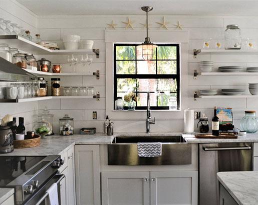 Nautical Coastal Kitchen Decor Ideas Sebring Design Build