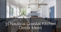 31 Nautical Coastal Kitchen Decor Ideas