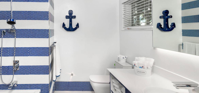 31 Nautical Coastal Beach Bathroom Decor Ideas   Sebring ...