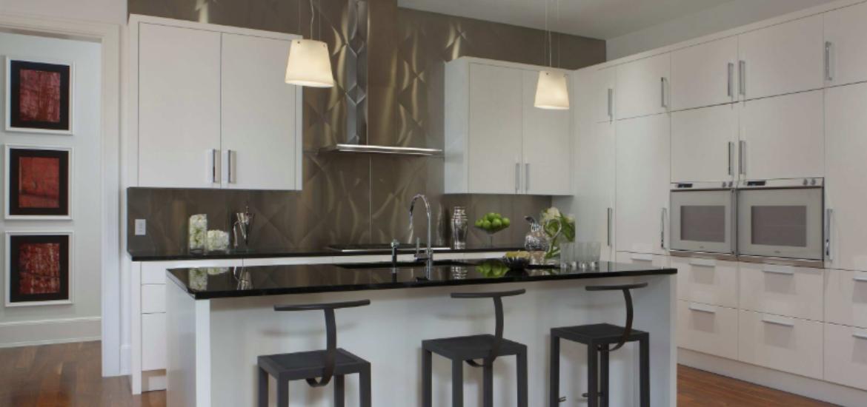 28 Stainless Steel Metal Backsplash Ideas | Sebring Design Build