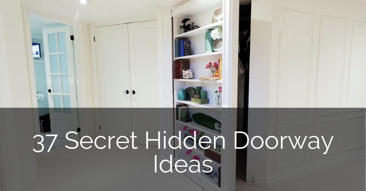 37 Secret Hidden Doorway Ideas Sebring Design Build