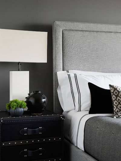 Black and White Bedroom 5