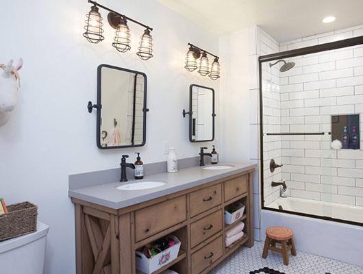 33 Modern Farmhouse Bathroom Ideas