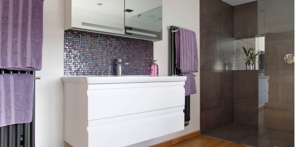 23 Purple Tile Design Ideas For Your