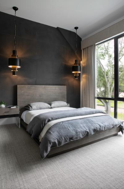 Black And Grey Bedroom Ideas Design Corral