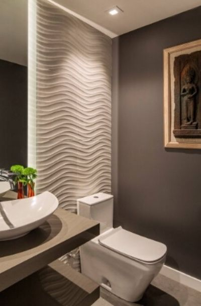 Wave Pattern Tile Design Ideas