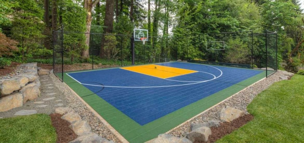 27 Outdoor Home Basketball Court Ideas Sebring Design Build