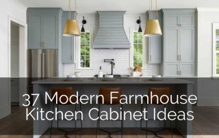 37 Modern Farmhouse Kitchen Cabinet Ideas