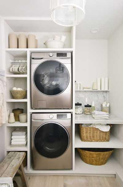 37 Modern Farmhouse Laundry Room Ideas Sebring Design Build
