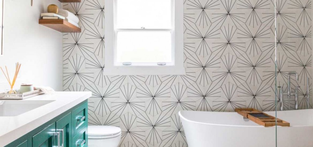 23 Really Cool Hexagon Shape Tile Ideas