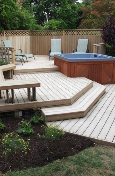 53 Awesome Backyard Deck Ideas Sebring Design Build