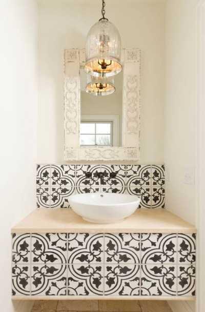 black-white-tile-design-kitchen-bath-ideas
