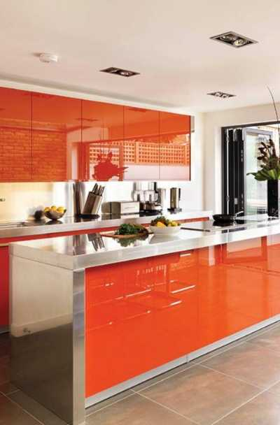 23 Orange Kitchen Cabinet Ideas Sebring Design Build