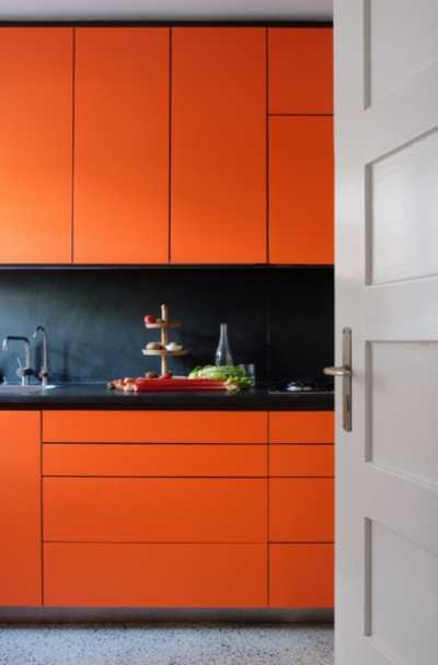 23 Orange Kitchen Cabinet Ideas Sebring Design Build